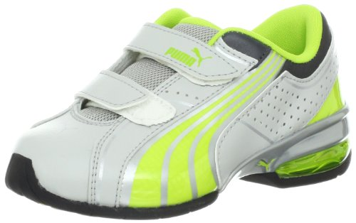 PUMA Cell Tolero 3 V Running Shoe (Toddler/Little Kid/Big Kid),Gray Violet/Lime Punch/Puma Silver,10 M US Toddler