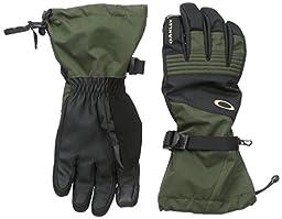 Oakley Men\'s Roundhouse OTC Gloves, Herb, Large