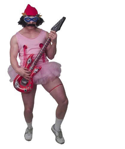 Incogneato CHEECH & CHONG - PINK TU TU COSTUME ADULT-STND