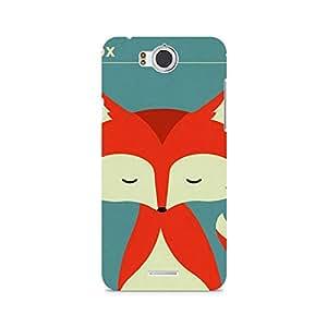 Ebby Fox Monk Premium Printed Case For InFocus M530