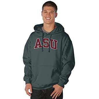 NCAA Arizona State Sun Devils Peerless Nuvola Cotton Sueded Hooded Sweatshirt by Ouray Sportswear