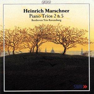 マルシュナー:ピアノ三重奏曲 第2番 ト短調Op.111/同 第5番 ニ短調Op.138