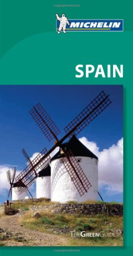 Michelin Green Guide Spain, 8E (Green Guide/Michelin)