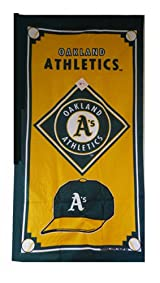 Oakland Beach Towel - MLB Oakland A's Beach Towel