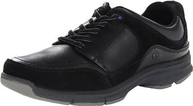 (新品)Hush Puppies暇步士男士真皮系带休闲鞋Men's Origin Oxford 黑色 $47.22