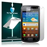 "SCREEN SHIELD MARK DISPLAYSCHUTZFOLIE F�R SAMSUNG GALAXY W I8150von ""QUBITS"""
