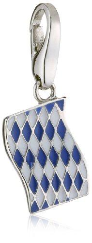 Giorgio Martello Charm Silver 237-804219 Lucky Flag Bavaria