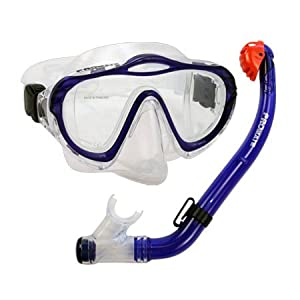 Buy PROMATE Junior Snorkeling Scuba Diving PURGE Mask DRY Snorkel Set for kids  SCS0033 by Promate