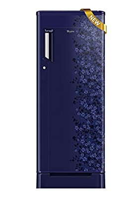 Whirlpool 205 Icemagic Royal 5S Single-door Refrigerator (190 Ltrs, 5 Star Rating, Sapphire Exotica)