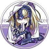 サークル R.P.G. 同人缶バッジ Fate/Grand Order 第2弾 ☆『ジャンヌ・オルタ/illust:ドア』★