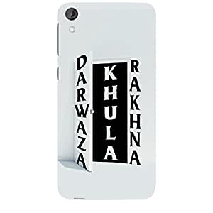 Skin4gadgets DARWAZA KHULA RAKHNA Phone Skin for HTC DESIRE 820