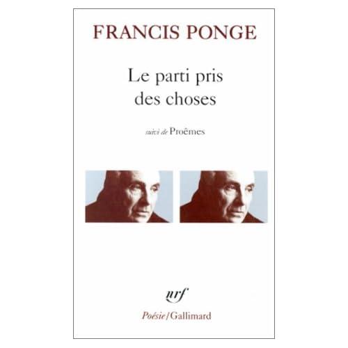 Par Pris Des Cho Douze (Collection Pobesie) (French Edition)