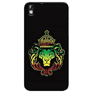 ColourCrust HTC Desire 816 Mobile Phone Back Cover With Lion King - Durable Matte Finish Hard Plastic Slim Case