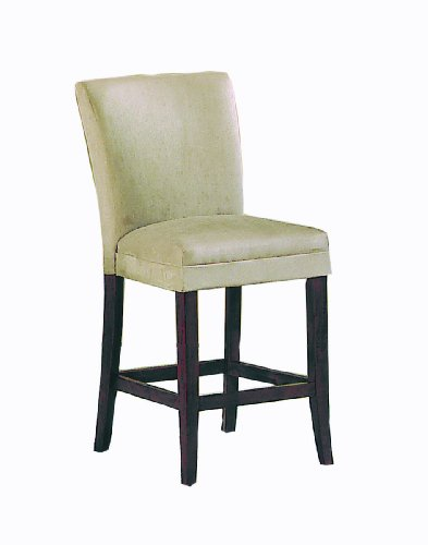 Homelegance Microfiber Parson Chair, Pub Height Peat, Set Of 2 front-1009891