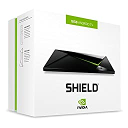 NVIDIA SHIELD - 4K HDR Streaming Media Player. Android TV. Great Gaming.