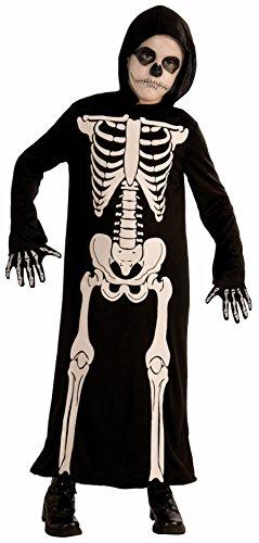 Forum Novelties Skeleton Reaper Child Costume, Small - 1