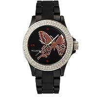 [ケイエブロス]K&BROS 腕時計 ICETIME アイスタイム 9537J-5 バタフライ ブラック Y11299 [正規輸入品]