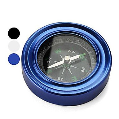2.4-Inch Stainless Steel Compass , Blue