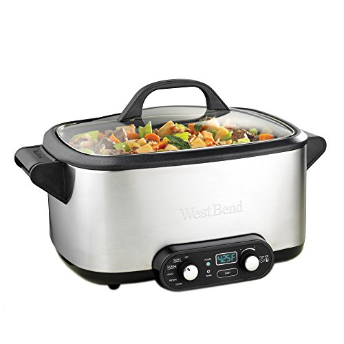 Find Cheap West Bend 4-in-1 Multicooker Slowcooker, 7-Quart, Stainless Steel