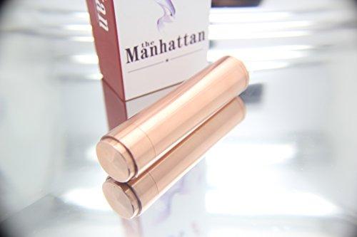 Manhattan Mod Copper Mechanical Mod New In Box Clone 1:1 Style 18650