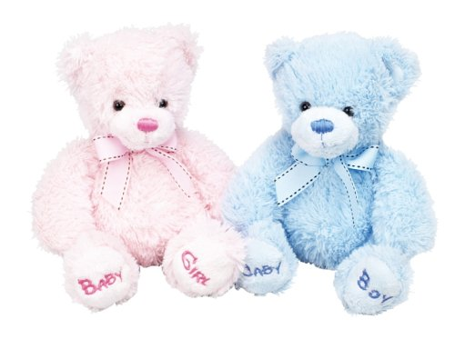 Keel Bobby Bear Soft Toy 22cm - Pink