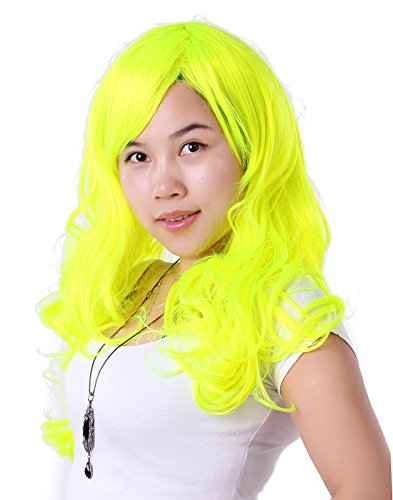 HDE Women's Full Length Wavy Curly Glamour Fashion Halloween Cosplay Costume Wig