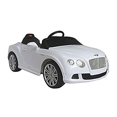 CHILDRENS ELECTRIC CARS - BENTLEY GT (Licensed) White - ON SALE