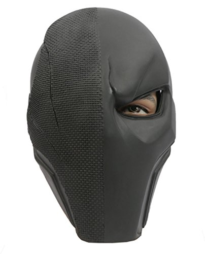 [Hot Helmet DIY Cosplay Prop Deathstroke Mask Arkham Halloween slade wilson] (Diy Aviator Costume)