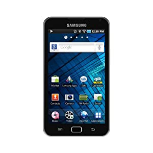 Samsung YP-G70CW Galaxy S WiFi 5.0 8GB - Black