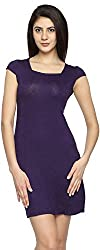 Texco Garments Women's A-Line Dress (17, Purple, XL)
