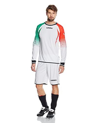 Legea Coordinato Sportivo Alpi Goalkeeper Bianco/Verde/Rosso L