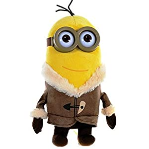 Minion Movie Design-Kevin Ice Village Plush With Plastic Glasses - 28 CM