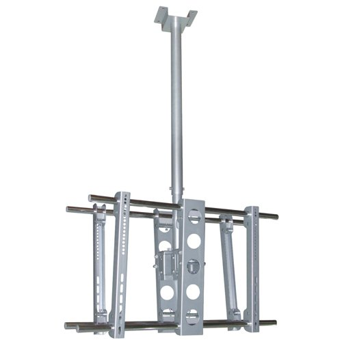 """Cmple - Heavy-Duty Ceiling Mount For Double 37""""-63"""" Led, 3D Led, Lcd, Plasma Tv'S"""