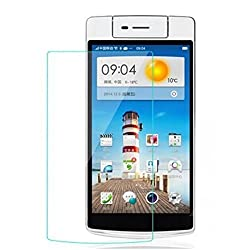 MoArmouz Go - Tempered Glass For Oppo N3 Clear Glass by MoArmouz- 9H Hardness Screen Guard / 9H Hardness 3D Touch Compatible HD Clear Tempered Glass Screen Guard Protector HD Clear Tempered Glass Screen Protector
