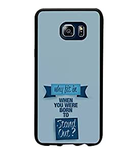 Printvisa Ultra Life Quote 2D Hard Polycarbonate Designer Back Case Cover for Samsung Galaxy ...