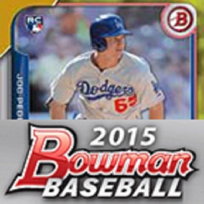 2015 Bowman Hobby Jumbo Baseball Box (3 Autos)