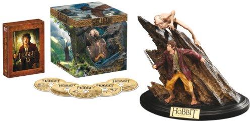 Der Hobbit: Eine unerwartete Reise - Extended Edition 3D/2D Sammleredition (5 Discs, inkl. WETA-Statue) [3D Blu-ray]