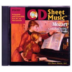 Wolfgang Amadeus Mozart: Complete Works For Piano