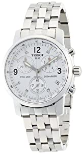 Men's T-Sport PRC200 Chronograph White Dial