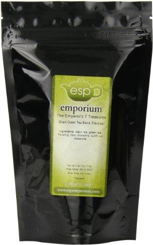 Esp Tea Emporium The Emperor'S 7 Treasures Black, Green Tea Blend, 1.76 Ounce