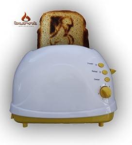 Penis Novelty Toaster (Yellow)