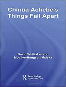 a book analysis of things fall apart by chinua achebe Okonkwo, protagonist in chinua achebe's novel things fall apart,  to illustrate  this, i will dissect and analyze the many factors that make things fall apart an.