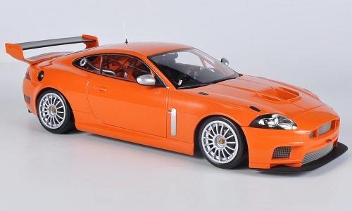 Jaguar XKR GT3, orange , 2008, Modellauto, Fertigmodell, Minichamps 1:18