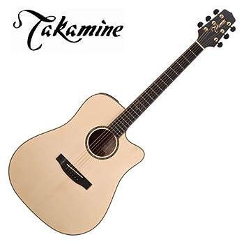 Takamine G Series EG363SC Dreadnought Acoustic Electric Guitar, Natural