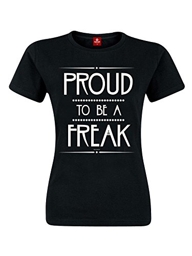 American Horror Story Proud To Be A Freak Maglia donna nero XL
