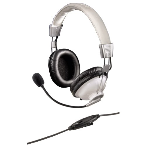 Hama PC Headset HS 300 weiß Stereo