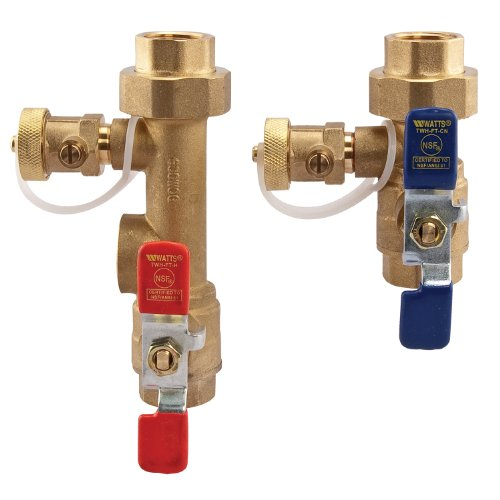 Watts LFTWH-FT-HCN Service Valve Kit for Tankless Water Heater (Hot Water Heater Installation Kit compare prices)