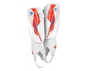 adidas Schienbeinschützer F50 Replique, white/infrared/bright blue f12, S, W44151,