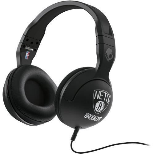 Skullcandy Nba Hesh 2.0 Brooklyn Nets With Mic Sports Collection Wired Headphone - Black / One Size