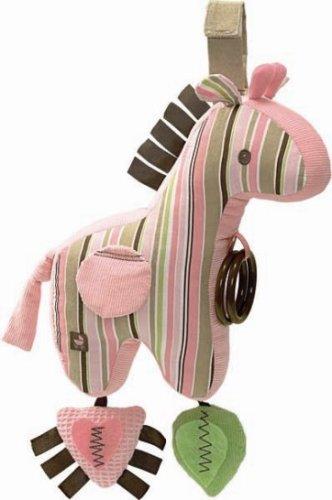 "Developmental Play Giraffe Activity Toy with Stripes 9"" by Gund"